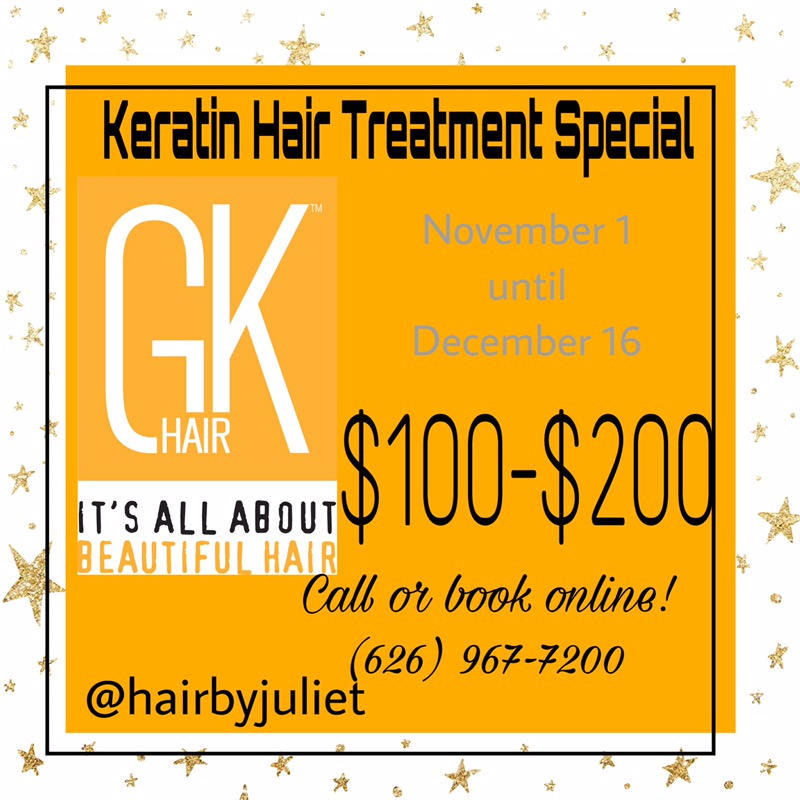 Hair by Juliet Salon - Keratin Hair Treatment